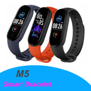 M5 Sport Fitness tracker Wristbands Watch Smart Bracelet Colorful Screen Blood Pressure Heart Rate Monitor Smart band With Magnetic Charging
