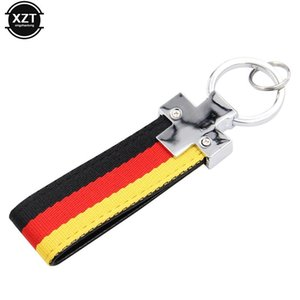 1pcs Car Key Rings Germany Flag Keychain For M Tech M Sport 1 3 5 E36 E37 E46 E39 E53 E60 E90 X5 X6 Styling hot sale