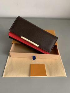 SHPPPING GRATUITO all'ingrosso rosso Bottoms Lady Long Portafoglio Multicolor Designer Coin Borst Borst Holder Box Original Box Donne Classic Zipper Pocket