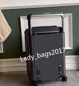 Neue Hot Travel Designer Gepäck 20 Zoll Männer Frauen Koffer Trunk Tasche Blumen Buchstaben Geldbörse Rod Box Koffer Spinner Universal Rad Duffel