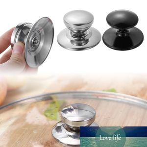 New 1PC 7*4cm Stainless Steel Handgrip Knob Screw Replaceable Pan Pot Glass Lid Cover Handle Knob Handgrip Grip Kitchen Cookware