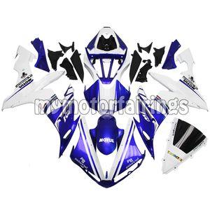 Bodywork per il 2005 2006 Yamaha YZF R1 2004 Fairings YZF1000 04 05 06 Cavallette - Blu bianca