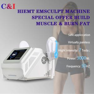 HIEMT haute intensité musculaire électromagnétique Système d'Entraînement EMSlim Machine minceur équipement de salon de beauté Stimulateur Emsculpt