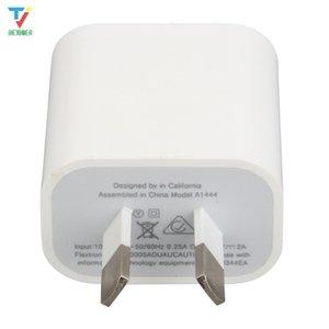 50pcs lot Universal Dual Port USB Power Adapter 5V 2.1A US UK EU AU Plug Charger For iPhone Samsung Huawei USB Wall Charger