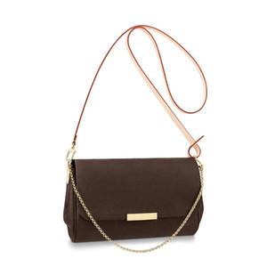 M40718 최고 품질 5A mm PM 여성 어깨 가방 크로스 바디 가방 지갑 핸드백 카드 홀더 패션 지갑 체인 키 파우치 M40717