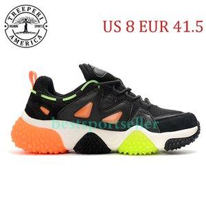Cheap Treeperi Durian Chunky V2 SOFT SOFT Shoes Shoes Black Volt Orange US 8 EUR 41,5 per gli uomini formatori