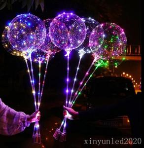 Бобо шар 20-дюймовый светодиодный свет шар с 3M светодиодные ленты провода Luminous Декоративное освещение Отлично подходит для партии подарка