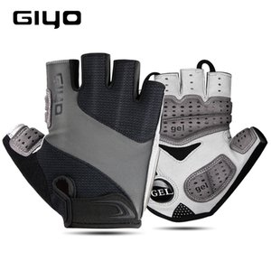 GIYO Bicycle Gloves Half Finger Outdoor Sports Gloves For Men Women Gel Pad Breathable MTB Road Racing Riding Cycling Gloves DH 201019