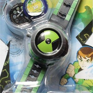 Kuulee style enfants Projecteur Montre + Worldwide LJ201105