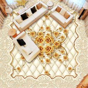 [Autoadesivo] 3D Floor Tile Flower 937 Wallpaper Pavimento Piano Murale Stampa murale Della Decalcomania Durals1
