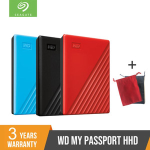 NEW WD 2TB 4TB hdd 2.5 USB 3.0 SATA Portable HDD Storage Memory Devices External Hard Drive Disk Disco Duro