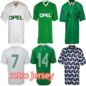 Лучшее качество 1990 1992 1994 Ирландия Ретро Футбол Джерси 1990 94 Ирландия Классический Джерси 90 92 Урожай Ирландские Шеди Футбольные Рубашки