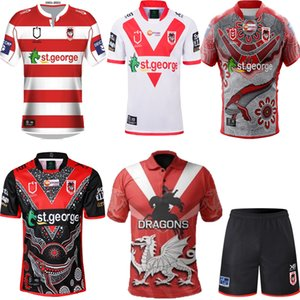 Nouveau 2020 2021 commémoratifs Indigenous Rugby Jerseys NRL Rugby League Jerseys 19 20 21 St George Illawarra Dragons NRL NNES JERSEY S-5XL