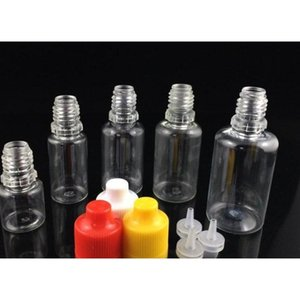 5ml 10ml 15ml 20ml 30ml 50ml Pet Ejuice Bottles With Childproof Cap E Liquid Bottles Long Thin Dropper Tip E Liquid jllduY xjfshop
