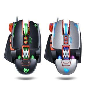 Ghunder Wolf V9 Game Electronic Compant Mechanical Macro Определение LOL Есть куриное мышь Cyber Cafe