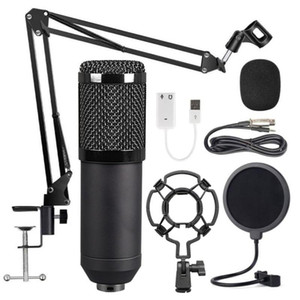Condenser Microphone Bundle BM-800 Mic Set for Stu dio Recording & Brocasting Microphone Kit for Pc Computer