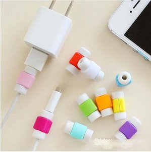 Universal cable saver USB data sync charger earphones line cord savior Protector case Savers for iphone X XS MAX XR 8 7 6 6S 5S plus SAMSUNG