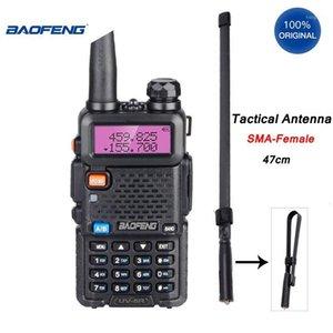 Baofeng UV-5R Walkie Talkie Professional 접이식 안테나 8-10km HF 트랜시버 5W VHF UHF 휴대용 UV5R CB 2 Way Ham Radio1