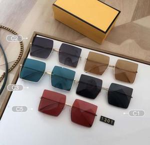 2021 calidad de calidad gafas de sol marca de gran tamaño cuadrado gafas de sol marco polarizado mujeres gafas de sol diseñadores para hombre gafas de sol conduciendo con b