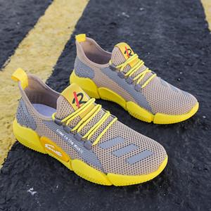 Мужские Легкие кроссовки Summer Сверхлегких дышащие кроссовки Zapatos De Mujer Полуботинки мальчики Кроссовки Размер 39-44