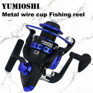 Yumoshi fishing gear mold metal coil spinning coil 8kg maximum sliding carp mold 1000-7000 series fishing gear mold wheel