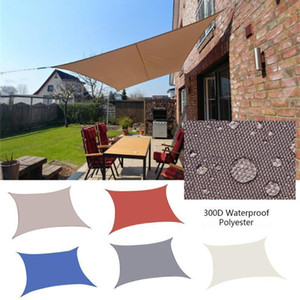 Balkon Courtyard Four-Corner Sail Shade Sale Sail Home Garden Balcone Impermeabile Shades Sunscreen Net Tending # YL51