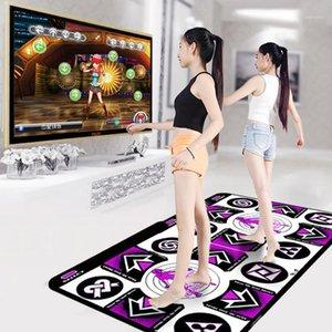 Double User Dance Mats غير قابل للانزلاق الرقص خطوة منصات لعبة اللغة الإنجليزية للكمبيوتر التلفزيوني التلفزيون الذكي حريصة اللمس جعل في المنزل متعة ماتس 1