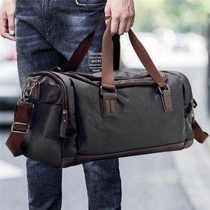 Travel Travel PU Duffel Leather New 2020 Messenger Bag Large LKEEP Capacity Bags Casual Men Handbags Rwxgw