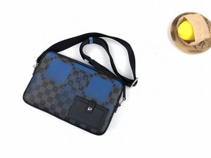 N40408 Alpha Messenger Bag Men Handbags icónico Top Handles S Holder Sacos Totes Cross Body Bag Embreagens Noite