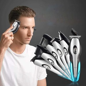 Man's Grooming Kit 6 in 1Cordless Electric Trimmer Shaver for Men