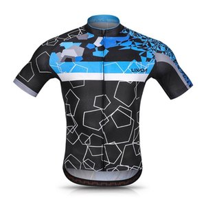 Lixada Men Cycling Jersey Set Breathable Quick-Dry Short Sleeve Biking Shirt and Gel Padded Shorts MTB Cycling Outfit Set