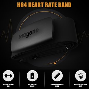 MAGENE H64 Bluetooth Heart Rate Monitor Sensor + Dual Mode ANT С Нагрудный велосипед Спорт Группа велокомпьютер