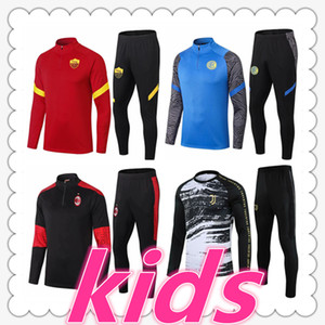 survetement juventus inter milan ac milan roma survetement foot enfant 20 21 Survêtement de football soccer tracksuit survêtement foot survetement kids chandal futbol