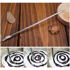 Aiguilles en acier inoxydable Espresso Art stylo de décoration pour le lait mousse Coffee coiffe décoration de café