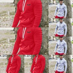 dPofB Новые братья мышцы пальто костюм и осенью случайно пальто свитер свитер coathooded фитнес мужской фитнес молния кардиган обучение весной C