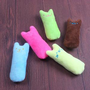 Pouce Cat Catnip Toy Pet peluche cataire Toy Toy Pinky avec du papier Casse-tête sonore résistant aux dents Biting