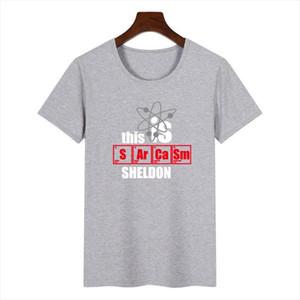 Women The Big Bang Theory Graphic Tee Shirt Femme Funny Harajuku This Is Sheldon T Shirt Korean Tops Kawaii Streetwear Gift