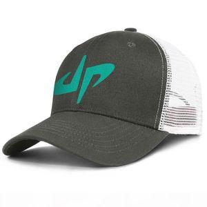 Geck Perfekte Symbol army_green Herren und Damen Trucker-Kappe Ball cool niedlich Netzkappen Kunst-Logo dp kühlen DP Schwarz ausgestattet