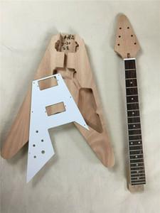Uninquentato 1 cuoio per chitarra per chitarra per volare V Style Kit per chitarra fai da te 22Fert
