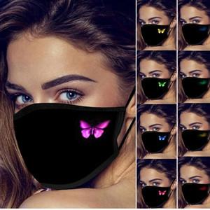 Tasarımcı Yüz Maskesi Kişilik Kelebek Ağız Kapak Moda Toz koruyucu Maskeler Yeniden Yıkanabilir Pamuk Parti Maskeler Maske Maskesi