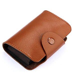 Chaud Mode Femme Card Gardien Véritable Sacs En Cuir Sacs Identifiant Carte de crédit Porte-pièce d'affaires Mesdames Bolasa 13 cartes DDD4006