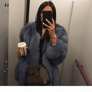 Plus Size Lady Warm Solid Color Plush Coat Fashion Winter Womens Warm Short Faux Fur Casual Coat Jacket Parka Outerwear S-5XL