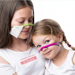 Deaf Mute Lip Language Mask 9 Colors Transparent Face Shield Breathable Full Mouth Cover Adults Child Protective Masks DDA787