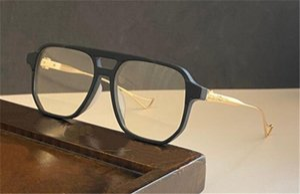 نظارات جديدة خمر hralie يمكن أن تكون مجهزة مع وصفة طبية إطارات مربع الكلاسيكية الأمريكية الشرير النمط الشفاف النظارات البصرية