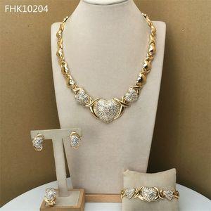 Yuminglai kalp kucaklar ve kadınlar için xoxo takı öpücük FHK9677 201222