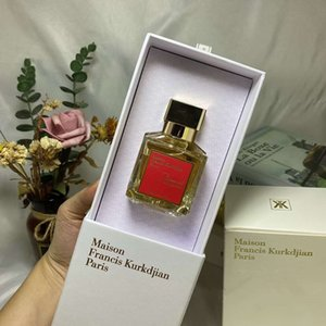 Maison Francis Kurkdjian Baccarat Rouge 540 Extrait de Parfum Neutral Oriental Floral Fragrance 70ML EDP Top Quality High-Performance