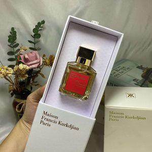 Maison Francis Kurkdjian Baccarat Rouge 540 Extrait de Parfum Neutral fragranza orientale floreale 70ML EDP superiore ad alte prestazioni