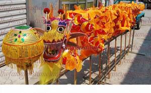 ENVÍO GRATIS Decoración amarillo tamaño # 6-3.1m 15,1 millones popular chico danza del dragón SILK parad inteligente colorido escenario mascota del traje de porcelana de vacaciones cultivo especial