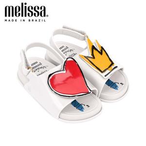 Mini Melissa Praia Deslize Sandália Boy Girl geléia das sandálias Calçados de Bebês Melissa Sandálias sandálias para meninas menina da criança Sapatos de 1007