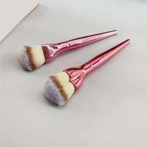 Mini Love is the Foundation Makeup Brush - Pink Heart Shaped Soft Liquid Cream Powder Foundation Airbrush Cosmetics Beauty Tool